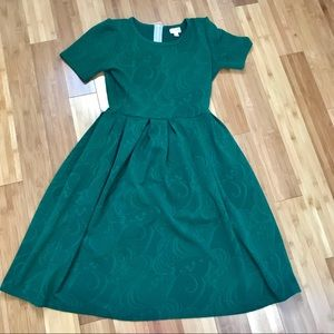 Green LuLaRoe Amelia Dress